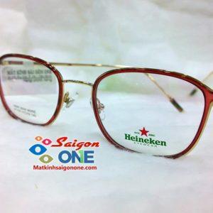 Gọng kính nhựa viền kim loại cao cấpH7155-1