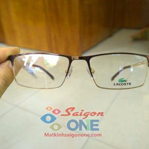 Gọng kính kim loại Lacoste2243
