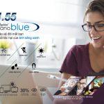 Tròng kính lọc ánh sáng xanh EXCELITE 1.56 nano blue